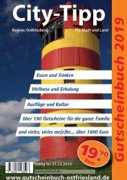Gutscheinbuch 2019 Ostfriesland