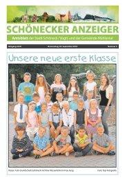 Schönecker Anzeiger September 2018