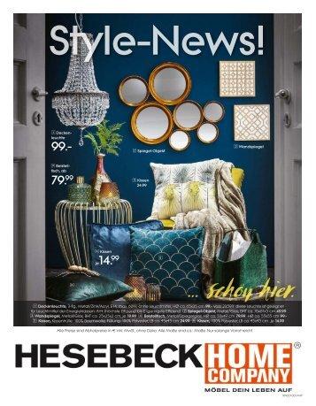 Hesebeck Home Company - Style-News 2018