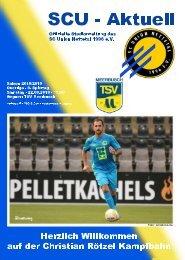 SCU - Aktuell Saison 18/19 - Nr. 4