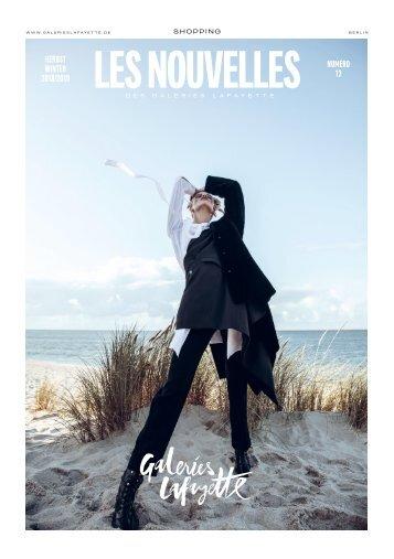 LES NOUVELLES HW18   Kundenmagazin der Galeries Lafayette Berlin