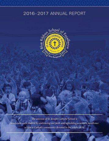 SJCS 2016-2017 Annual Report