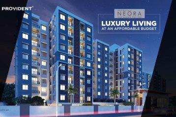Provident Neora | Apartments in Thanisandra, North Bangalore