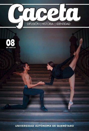 Gaceta UAQ 08 | Agosto 2018