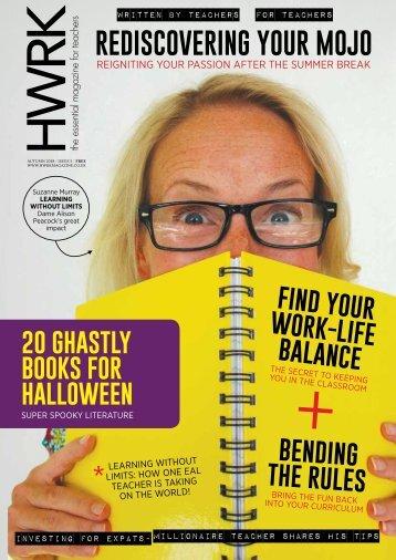 HWRK Magazine: Issue 5 - Winter 2018