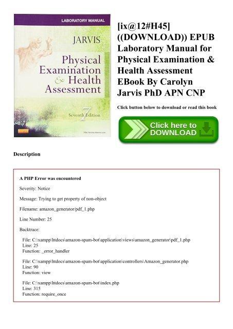 ix@12#H45] ((DOWNLOAD)) EPUB Laboratory Manual for Physical