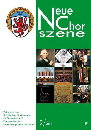 NeueChorszene 29 - Ausgabe 2/2018