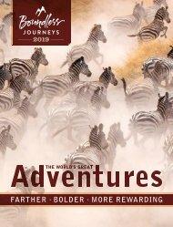Boundless Journeys 2019 Catalog