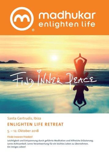 EnlightenLife Retreat Ibiza 2018