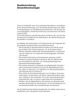 Studienführer Umwelttechnologie - Seite 7