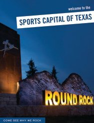 Round Rock Texas Overview Brochure