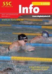 Erfolgreiches Leistungs- schwimmen im SSC - Sport und ...