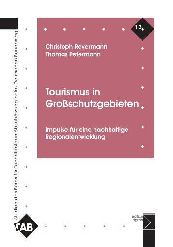 III. Tourismus in Großschutzgebieten - Büro für Technikfolgen ...