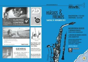 2Dsein - Musikverein Buochs