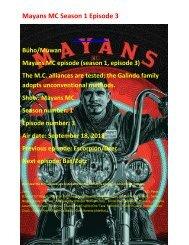 Mayans M.C. Season 1 Episode 3   HDTS 720p
