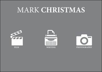 Mark Christmas Portfolio