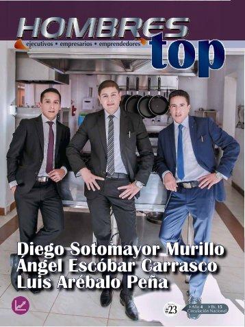 Revista Digital Hombres Top Diego Sotomayor M. Angel Escóbar C. Luis Arébalo P.
