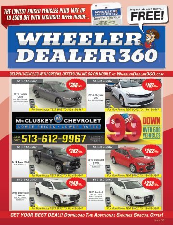 Wheeler Dealer 360 Issue 38, 2018