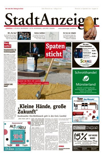 Stadtanzeiger Coesfeld kw 38