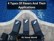 4 Types Of Pavers And Their Applications