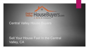 Sell My House for Cash Tulare – Central Valley House Buyers