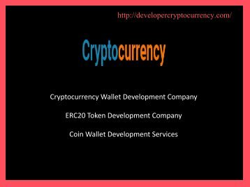 ERC20 Token Development Company - Coin Wallet Development Services-converted