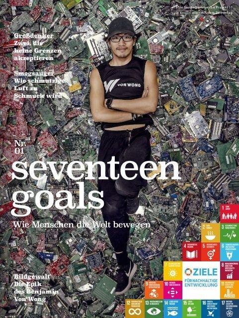 seventeen goals Magazin