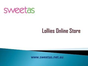 Lollies Online Store in Australia