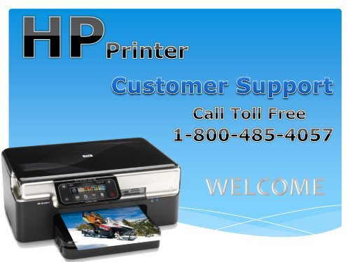 HP Printer Customer Support Number +1-800-485-4057,