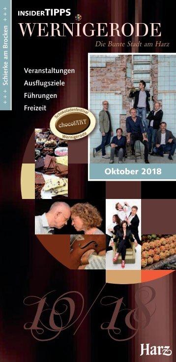 Insider Tipps Oktober 2018
