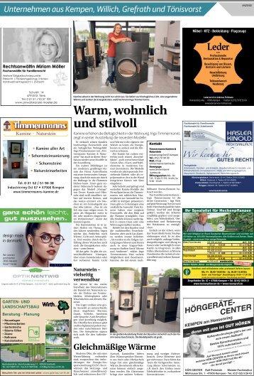 Unternehmen aus Kempen, Willich, Grefrath und Tönisvorst  -19.09.2018-