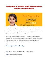 Steps to Download, Install, Reinstall Norton Antivirus on Apple MacBook
