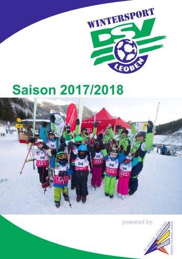 Programmheft 2017-2018 - DSV Leoben Wintersport