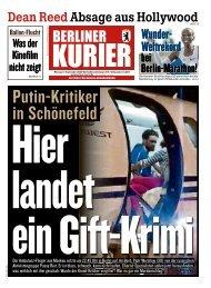 Berliner Kurier 17.09.2018