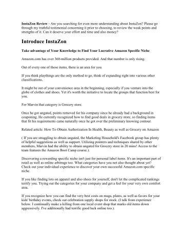 InstaZon Review Do you like it