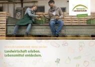 Initiative Heimische Landwirtschaft   Imagebroschüre