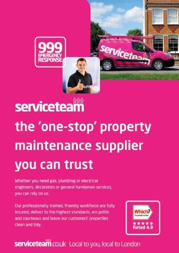 Serviceteam Ltd Brochure