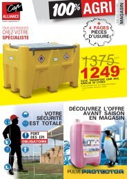 DEPLIANT MAGASIN AUTOMNE 2018