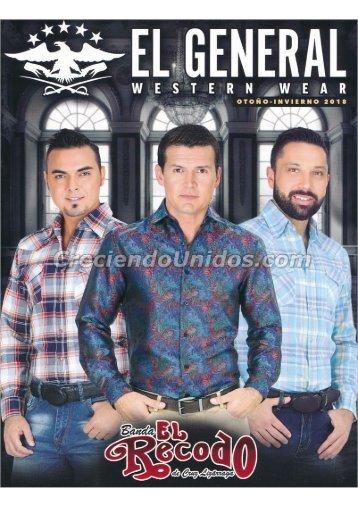 #653 El General Western Wear Otono Invierno 2018 Precios de Mayoreo