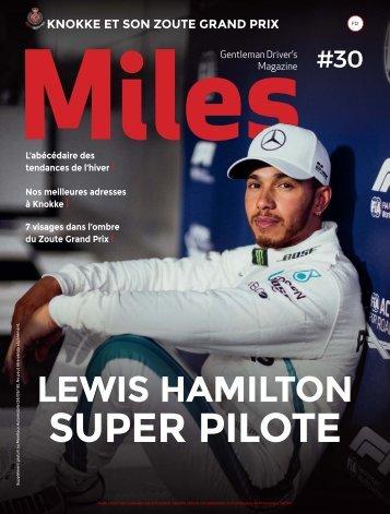 Miles #30 Lewis Hamilton Super Pilote