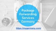 Package Forwarding Services Germany
