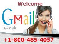 Gmail Customer Support Number+1800-485-4057 Gmail Service Number