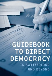 Guidebook to Direct Democracy in Switzerland an beyond (2010)