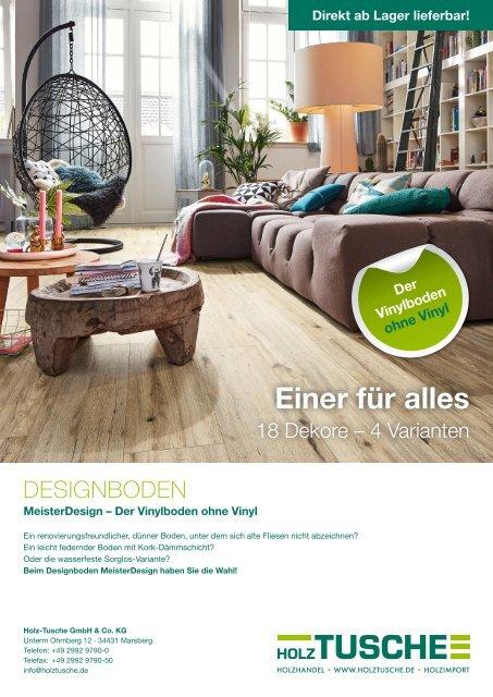 MeisterDesign – Der Vinylboden ohne Vinyl