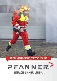 Pfanner Rescue Line Folder