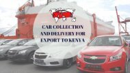 Shipping Cars from UK to Kenya | Auto Kenya