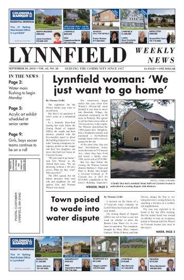 Lynnfield 9-20
