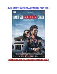 BATTI GUL METER CHALU FULL MOVIE DOWNLOAD HD FREE DOWNLOAD 1080P