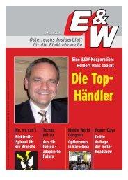 Österreichs Insiderblatt für die Elektrobranche Eine E&W ...