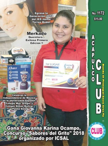 Revista Acapulco Club 1172
